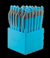 Ручка кулькова FINE LINE 0.7мм синя, Milan (24)