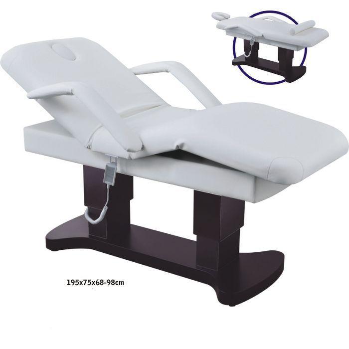 Масажна косметологічна кушетка електрична ZD 866 Масажний стіл електричний посилений універсальний