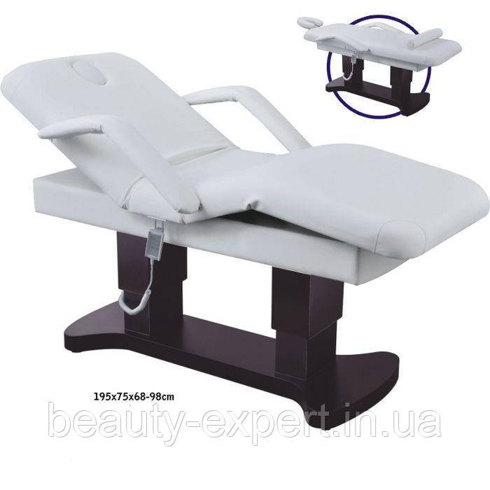 Массажная косметологическая кушетка электрическая ZD 866 Массажный стол электрический усиленный универсальный