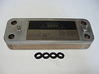 Вторинний пластинчастий теплообмінник ГВП Baxi/Westen. На всі моделі. 12 пл. Art. 5686670