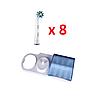 8 насадок для зубной щетки Braun ORAL-B Cross Action EB50 + подставка с крышкой