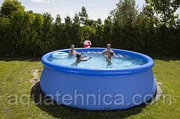 Надувной круглый бассейн Swing pools 3,66 м х 0,91 м.