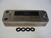 Вторинний пластинчастий теплообмінник ГВП Baxi/Westen. На всі моделі. 14 пл. Art. 5686680