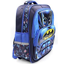 """Рюкзак шкільний """"Бетмен"""" 3D Малюнок"""