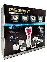 Епілятор для зони бікіні, тіла, ніг, акумуляторний Gemei 4 в 1, фото 6