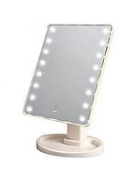 Дзеркало для макіяжу з LED-підсвіткою Magic Makeup Mirror сенсорна кнопка, фото 2