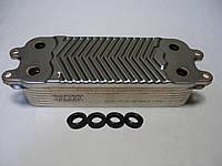 Вторинний пластинчастий теплообмінник ГВП Vaillant Atmo/Turbo Tec/Pro, mini, R1. 14 пл. Art. 0020020018, фото 1
