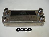 Вторинний пластинчастий теплообмінник ГВП Vaillant Atmo/Turbo Max Pro/Plus. 24 kW. 12 ART. 065088