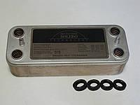 Вторинний пластинчастий теплообмінник ГВП 16 пл. Beretta Super Exclusive 24 kw. Art. 6319690