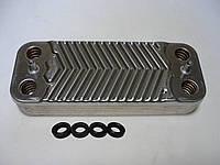Теплообмінник ГВП вторинний (пластинчастий) Immergas Eolo/Nike mini 12 пластин 24 3E - Art. 3.021692