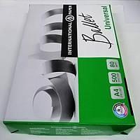 Бумага для принтера А4 белая Ballet Universal 500 листов, фото 1