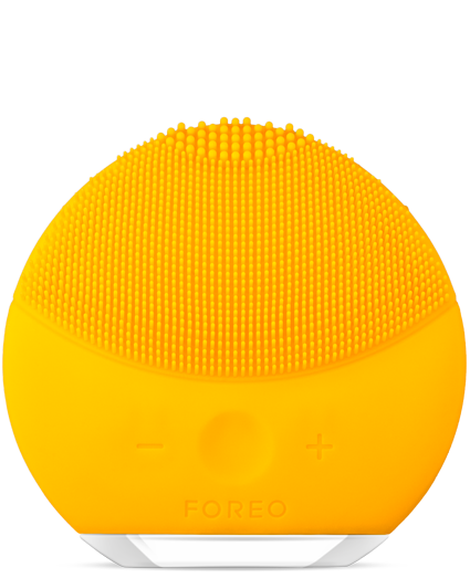Foreo Luna mini 2 массажер щетка для чистки лица Yellow