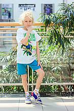 Детские шорты для мальчика BRUMS Италия 151BFBL007 Бирюзовый