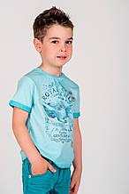 Дитяча футболка для хлопчика BRUMS Італія 151BFFN013 Бірюзовий