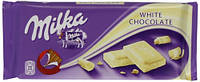 Milka шоколад белый, 100 г