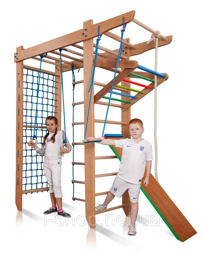 SportBaby Детский спортивный уголок с рукоходом  «Гимнаст 5-240»
