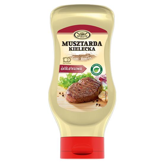 Гірчиця Musztarda Kielecka Delikatesowa делікатесна 500г, 6 шт/ящ