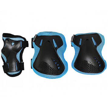 Комплект захисний SportVida SV-KY0005-S Size S Blue/Black