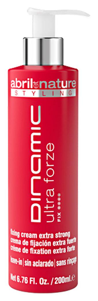 Крем для укладки экстрасильной фиксации Abril et Nature Advanced Stiyling Dinamic Ultra Forze 200 мл
