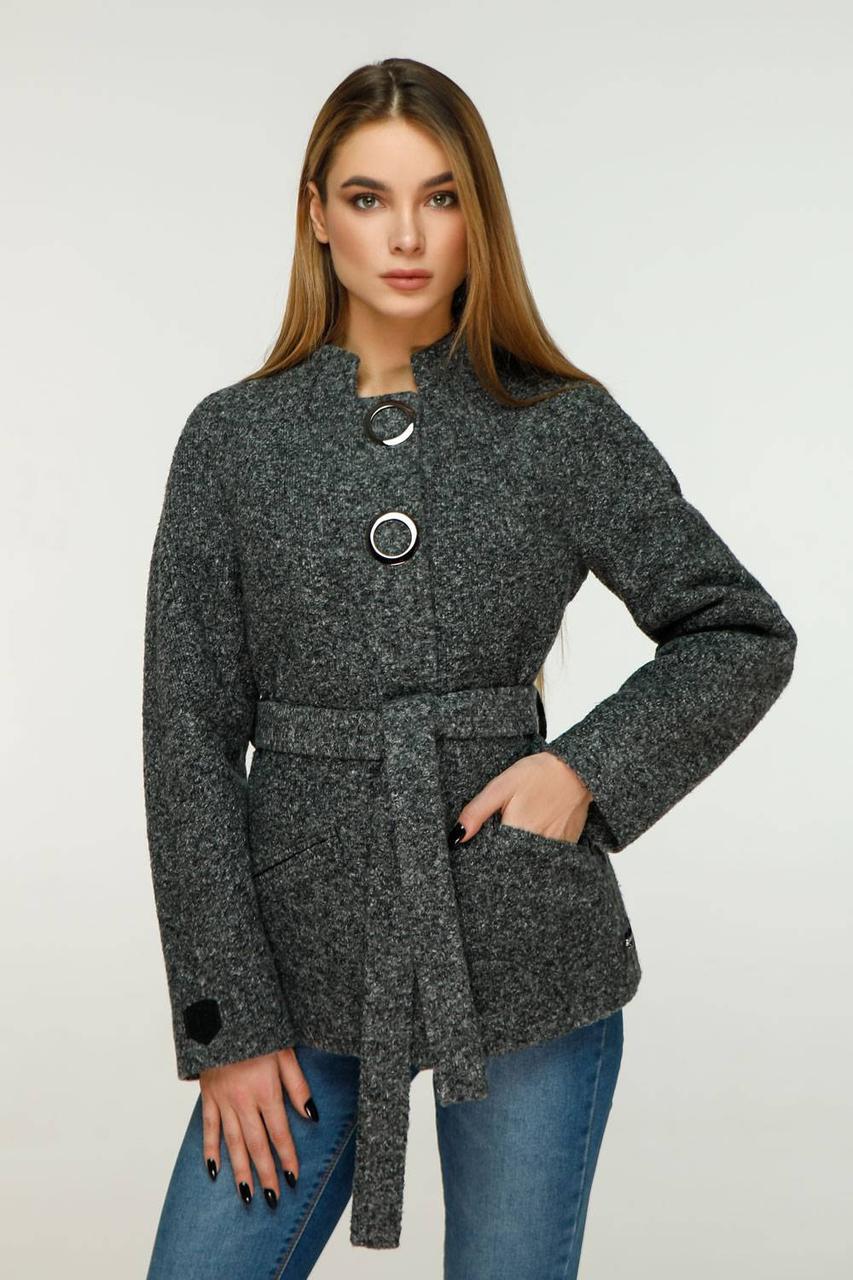 Модное демисезонное кашемировое пальто