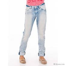 Демисезонные детские джинсы для девочки JBE Италия 151BIBF001 Голубой