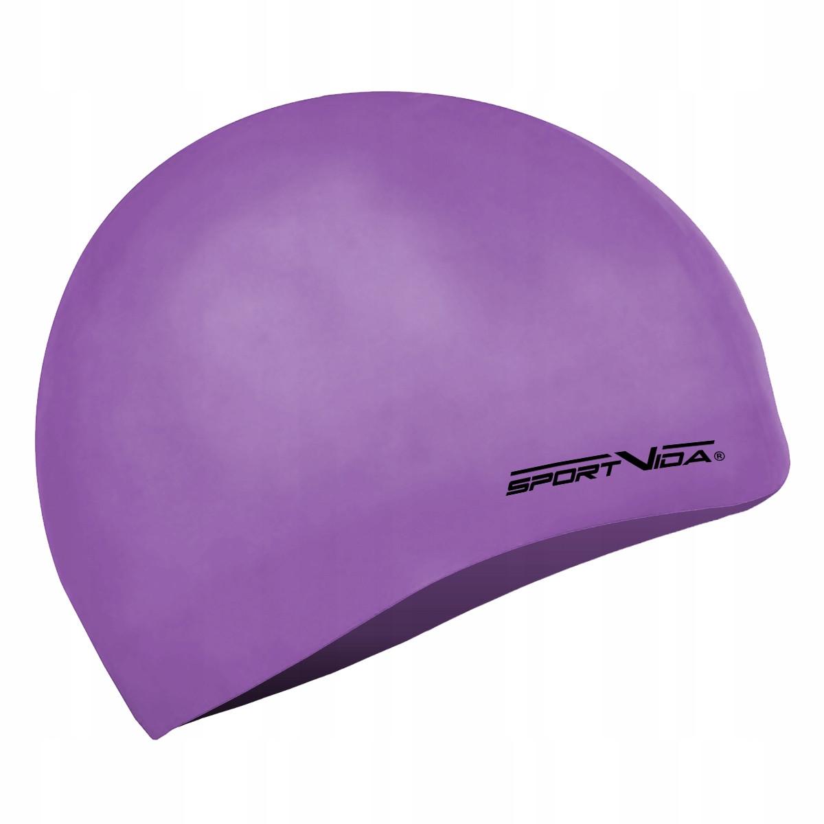 Шапочка для плавання SportVida SV-DN0018 Violet