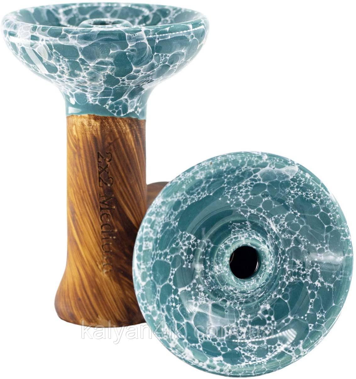 >Чаша 2x2Hookah Medium Turquoise