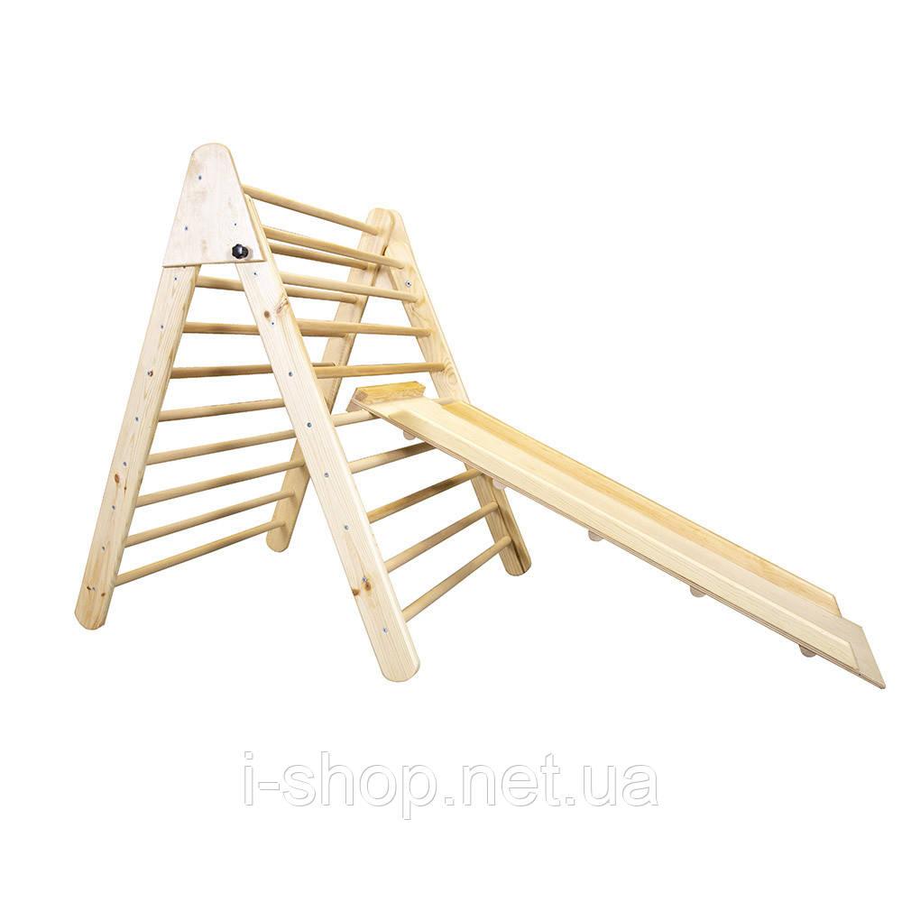 SportBaby Дитячий дерев'яний тринажер пиклера - Лак