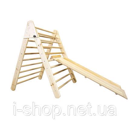SportBaby Дитячий дерев'яний тринажер пиклера - Лак, фото 2