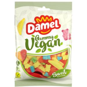 Жуйки Damel Sugared vegan Sweet mix веганські 80 г, 18шт/ящ