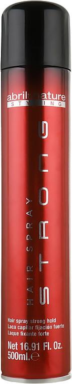 Лак для волос сильной фиксации Abril et Nature Advanced Stiyling Hair Spray Strong 500 мл