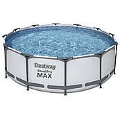 Каркасний круглий басейн Bestway 56260 (366x100) з картриджних фільтрів