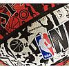 Мяч баскетбольный Spalding NBA Graffiti Outdoor White/Red Size 7, фото 2