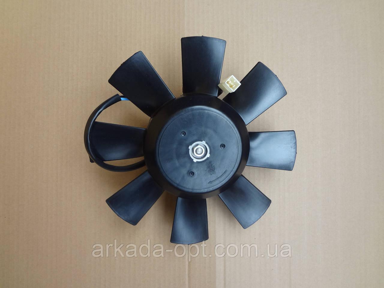 Вентилятор радіатора ВАЗ ГАЗ Сенс ЗАЗ 1102 Таврия 1105 Славута, дв.1,3 на 8 лопатей ДК