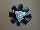 Вентилятор радіатора ВАЗ ГАЗ Сенс ЗАЗ 1102 Таврия 1105 Славута, дв.1,3 на 8 лопатей ДК, фото 2