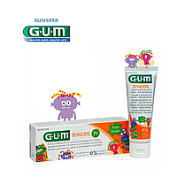 Зубная паста-гель GUM JUNIOR TUTTI FRUTTI (7+), 50 мл, фото 1