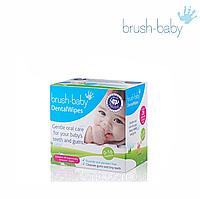 Салфетки Brush-Baby Dental Wipes, 28 шт.