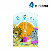 Песочные часы для контроля времени чистки зубов  Miradent, 2 хвилини