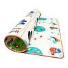 Розвиваючий дитячий килимок двосторонній 4FIZJO KIDS 180 x 180 x 1 см 4FJ0161, фото 3