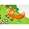 Розвиваючий дитячий килимок двосторонній 4FIZJO KIDS 180 x 180 x 1 см 4FJ0161, фото 4