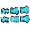 Комплект защитный SportVida SV-KY0008-M Size M Blue/Grey, фото 5