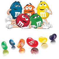 Легендарные конфеты M&M's и Jelly Belly