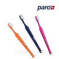 Детская зубная щетка paro S27, мягкая (от 6 лет), 1 шт, фото 1