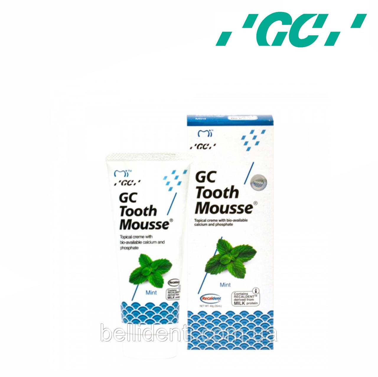 Крем для зубов GC Tooth Mousse Mint 35 мл