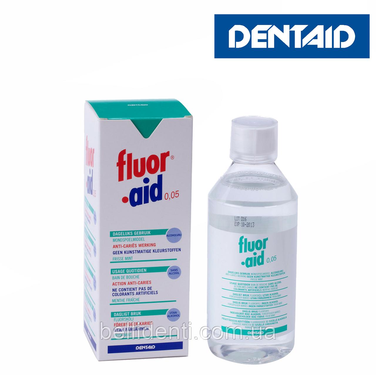 FLUOR-AID 0.05% ополаскиватель, 500 мл