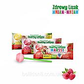 "Леденец Zdrowy Lizak ""Mniam-Mniam"" (малина), 1 шт"