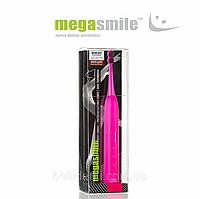 """Звуковая гидроактивная зубная щетка Megasmile """"Блек Вайтенинг ІІ"""", shocking pink"""