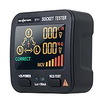 Richmeters ST01 - тестер розеток, Led дисплей