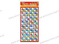 Магнитная азбука ENGLISH ALPHABET 13133004А, 4204