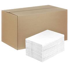 Салфетки диспенсерные  2000 листов бумажные размер 17*17 сменный блок для диспенсера Рута БД